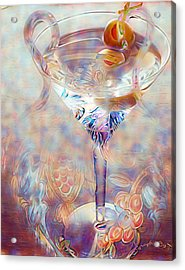 Fantasy Cocktail  Acrylic Print by ARTography by Pamela Smale Williams