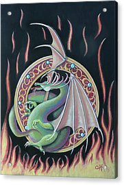 Fantasy Dragon Acrylic Print