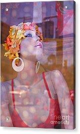 fantasy figures fine art - Bathing Beauty Acrylic Print