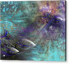 Fantasy Fish Acrylic Print by Gae Helton