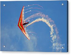 Fantasy Flight Acrylic Print by Larry Keahey