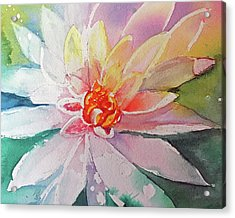 Fantasy Flower Acrylic Print