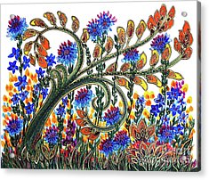 Fantasy Garden Acrylic Print