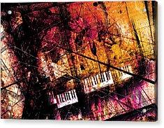 Fantasy In F Major Acrylic Print by Gary Bodnar