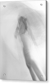 Fantasy In Gray Acrylic Print