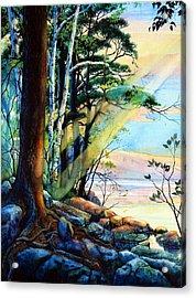 Fantasy Island Acrylic Print by Hanne Lore Koehler