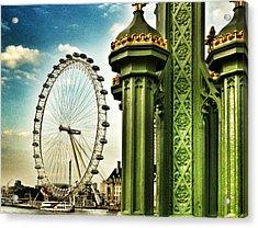 Fantasy London Acrylic Print