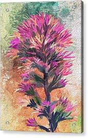 Fantasy Paintbrush Acrylic Print