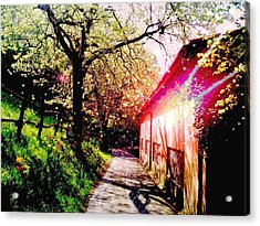 Fantasy Scenery Acrylic Print by Darkus Photo