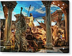 Fantasy Acrylic Print by Stephen Campbell