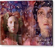 fantasy women art - Eleusis Acrylic Print