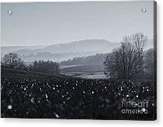 Far Away, The Misty Mountains Cold Acrylic Print