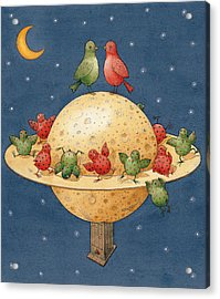 Far Planet Acrylic Print by Kestutis Kasparavicius