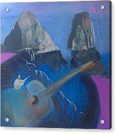 Faraglioni Serenade Acrylic Print