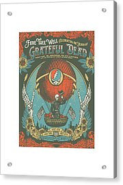 Fare Thee Well Acrylic Print by Gd