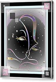 Farewell Mardi Gras Kiss Acrylic Print