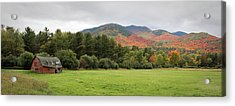 Farewell Red Barn Acrylic Print