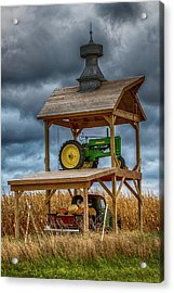 Farm Art Acrylic Print by Paul Freidlund