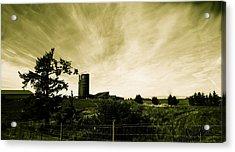 Farm By The Sea Acrylic Print