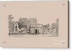 Farm Dwellings Acrylic Print