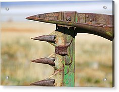 Acrylic Print featuring the photograph Farm Equipment 1 by Ely Arsha