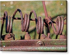 Acrylic Print featuring the photograph Farm Equipment 7 by Ely Arsha