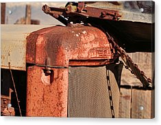 Acrylic Print featuring the photograph Farm Equipment 8 by Ely Arsha