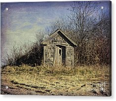 Farm Field Shed Acrylic Print