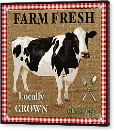 Farm Fresh-jp2381 Acrylic Print by Jean Plout