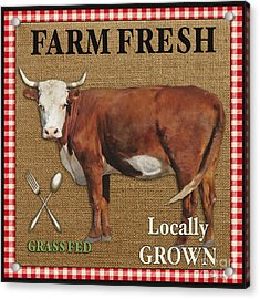 Farm Fresh-jp2383 Acrylic Print by Jean Plout