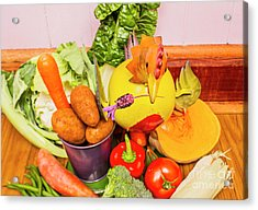 Farm Fresh Produce Acrylic Print by Jorgo Photography - Wall Art Gallery