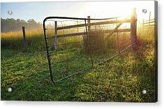 Farm Gate Acrylic Print