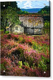 Farm In The Heather Acrylic Print