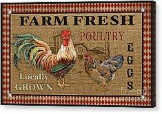 Farm Life-jp3238 Acrylic Print by Jean Plout
