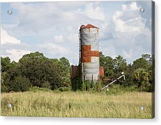 Farm Life - Retired Silo Acrylic Print