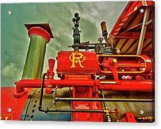 Farm Ready Acrylic Print by Dale Stillman