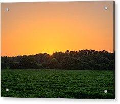 Farm Sunset Acrylic Print