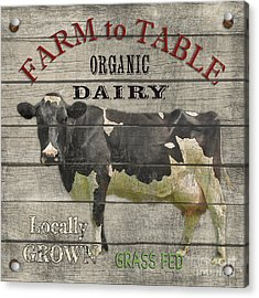 Farm To Table Dairy-jp2629 Acrylic Print by Jean Plout