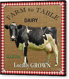 Farm To Table-jp2389 Acrylic Print by Jean Plout