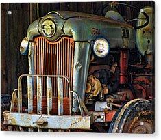 Farm Tractor Two Acrylic Print