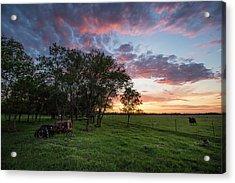 Farm View  Acrylic Print