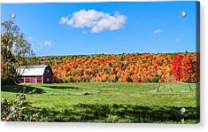 Farm View From Russellville Road Acrylic Print