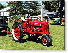 Farmall At The Country Fair Acrylic Print