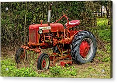 Acrylic Print featuring the photograph Farmall Cub by Christopher Holmes