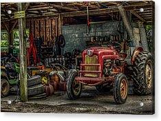 Farmall Tractor - Forever Florida Acrylic Print