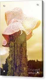 Farmer Girls Still Life Acrylic Print