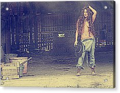 Farmers Daughter Acrylic Print by Naman Imagery