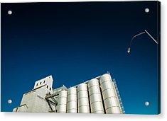 Farmers Grain Exchange Acrylic Print by Todd Klassy