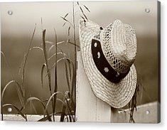 Farmers Hat Acrylic Print