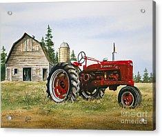 Farmers Heritage Acrylic Print by James Williamson